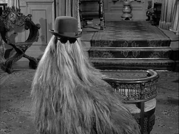 Primo Itt sabe o que é ter cabelo (Foto: divulgação)
