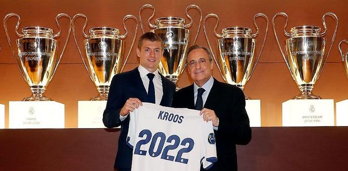 Toni Kroos Real Madrid (Foto: Divulgação/Real Madrid)