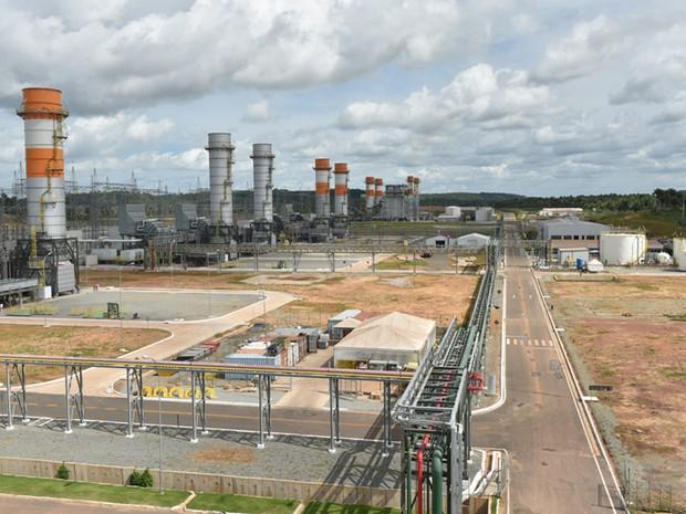 Complexo Parnaíba, localizado em Santo Antônio dos Lopes (MA), é um dos ativos da Eneva de geração de energia termelétrica  (Foto: Divulgação)