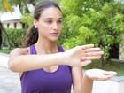 Débora Nascimento mostra o que aprendeu com aulas de Tai Chi Chuan
