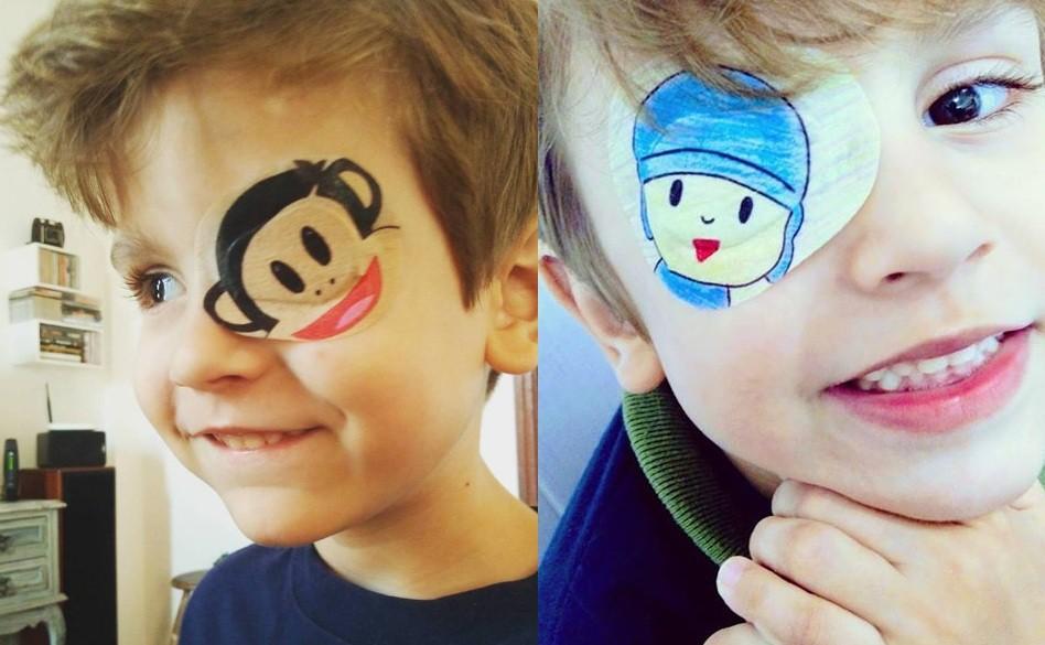 97132887f7694 Óculos e tampão  como saber se meu filho precisa usar e como fazê-lo ...
