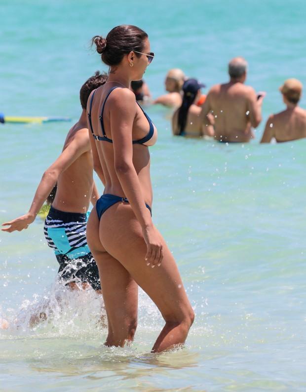 Lais Ribeiro em Miami (Foto: Grosby Group)