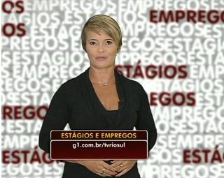 Marilene traz as oportunidades de estágios e empregos dessa semana (Foto: Bom Dia Rio)