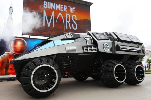 NASA Mars Rover Concept (Foto: Divulgação)