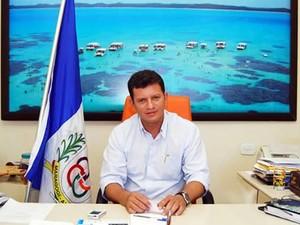 Prefeito de Maragogi, Marcos Madeira  (Foto: Ascom/Divulgação )