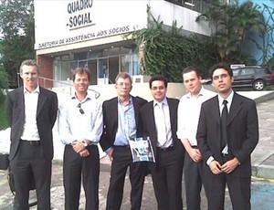 Arena do grêmio reunião amsterdam arena (Foto: Arquivo Pessoal)