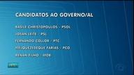 Alagoas tem 5 candidatos ao governo do estado e 9 para o senado