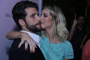 Giovanna Ewbank e Bruno Gagliasso participa de festa de lançamento de grife (Foto: Marcello Sá Barretto / Agnews)