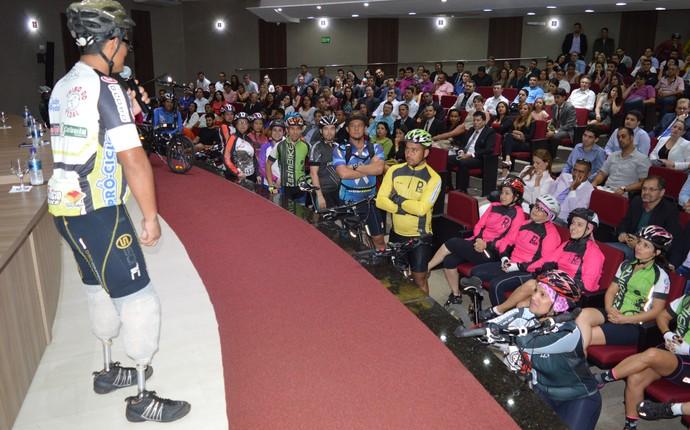 Deivid Oliveira - ciclista (Foto: Thayssa Mazzarelo / Creci-GO)