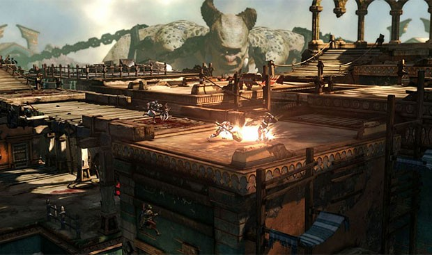 'God of War: Ascension' contará a historia do herói Kratos antes do primeiro jogo, exclusivo do PlayStation 3 (Foto: Divulgação)