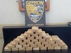 Polícia apreende 40 tabletes de pasta base na fronteira de MT com a Bolívia