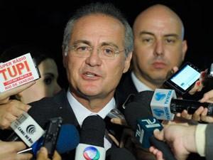 O presidente do Senado, Renan Calheiros (Foto: Marcos Oliveira / Agência Senado)