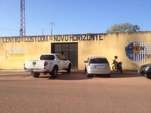 Centro de Custódia do Novo Horizonte (Foto: Gabriel Dias/G1)