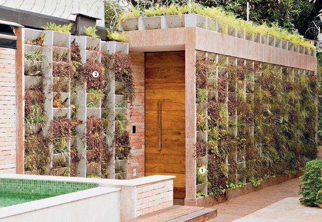 Solu es para muros no jardim casa e jardim plantas for Jardines pequenos redondos