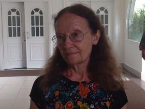 Esposa de Gilberto Mendes diz que maestro morreu em seus braços (Foto: João Paulo de Castro / G1)
