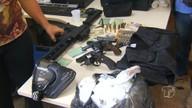 Polícia apreende armas e prende procurado da justiça no Mato Grosso