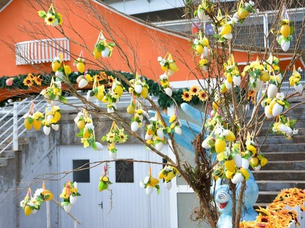Osterdorf vai até 27 de março em Blumenau (Foto:  Michele Lamin/Divulgação)