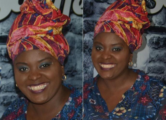 A cantora garante que não tem um turbante preferido (Foto: Arquivo pessoal)