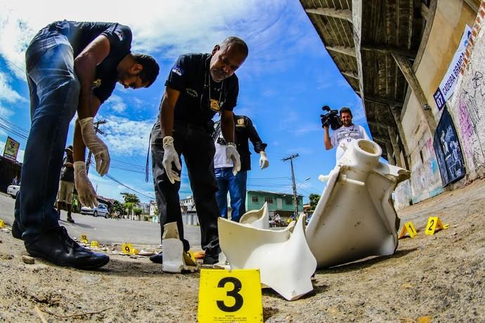 Peritos Arruda morte torcedor (Foto: CARLOS EZEQUIEL VANNONI/FOTOARENA/ESTADÃO CONTEÚDO)