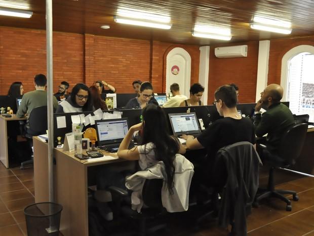 Empreendimento quer se tornar primeira opção para recém-formados. (Foto: Lúcia Ribeiro/G1)