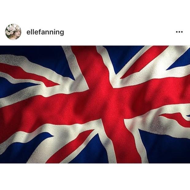 """Elle Fanning: """"Enviando amor e orações para Manchester..."""" (Foto: Instagram/Reprodução)"""
