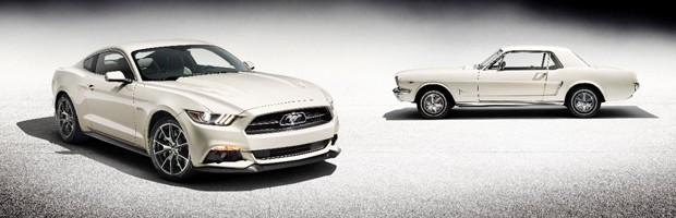 Ford faz homenagem aos 50 anos do Mustang (Foto: Divulgação)