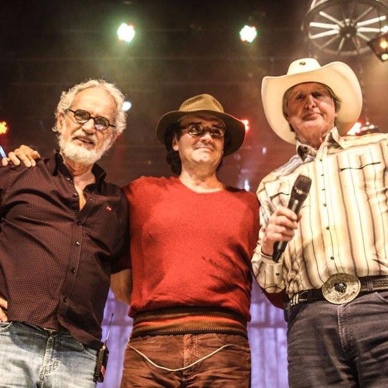 Trio da música caipira faz show em Londrina