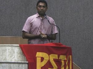 PSTU indica Roberto Aguiar para ser candidato a vice-governador (Foto: Divulgação / PSTU)