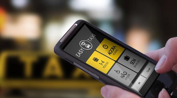 Aplicativo de transporte Easy Taxi (Foto: Divulgação)