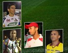Atacante dos semifinalistas miram gols (Editoria de arte)