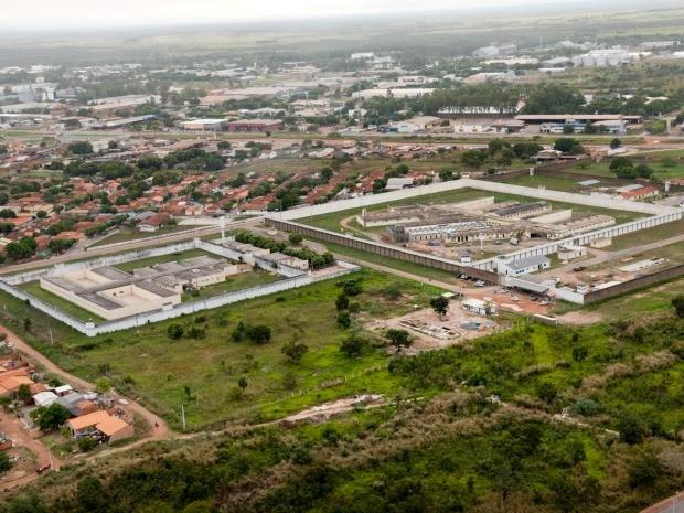 Penitenciária Central do Estado, em Cuiabá, é a maior unidade prisional de Mato Grosso e abriga hoje média de 2 mil reeducandos. (Foto: Marcos Vergueiro/Secom-MT)