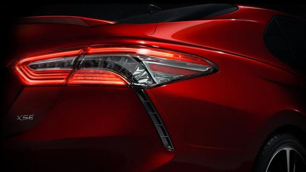 Novo Toyota Camry aparecerá no Salão de Detroit  (Foto: Divulgação)