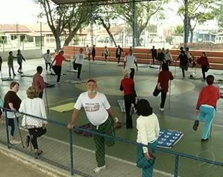 Idosos (Foto: Reprodução Bom Dia Rio)