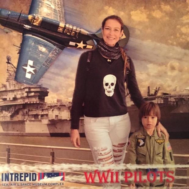 Luana Piovani e o filho (Foto: Reprodução / Instagram)