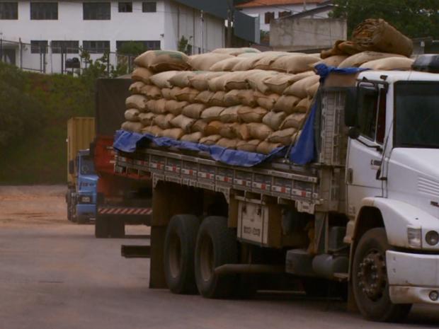 Exportações sobem e animam os produtores da regiâo (Foto: Reprodução EPTV)