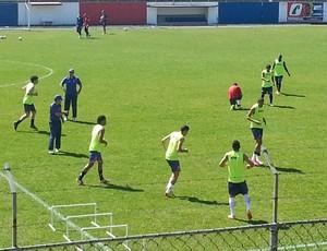 Paraná Clube treino  (Foto: Jairton Conceição/RPC TV)