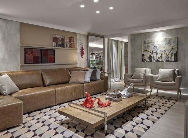13 ideias de decora o para sua casa ou apartamento casa e jardim decora o - Deco muur corridor ...