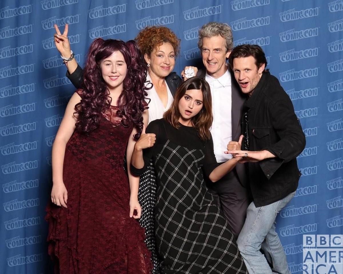 O elenco de Doctor Who que est presente na NYCC (Foto: Divulgao)