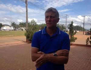 Márcio Bittencourt deixou o comando do Vilhena neste domingo (Foto: Dennis Weber)
