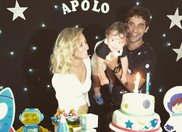 Lua Gil e Gabriel Reif comemoram o primeiro aniversário de Apolo (Foto: Reprodução/Instagram)