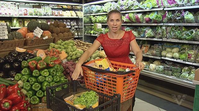 Karina Simas explica a importância da boa alimentação para prevenir doenças (Foto: Reprodução/TV Tribuna)
