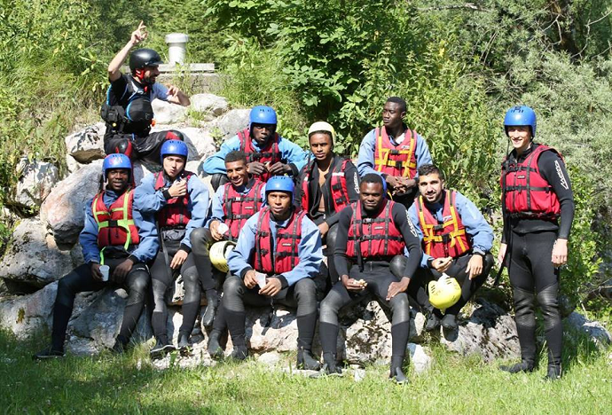 RB Salzburg Rafting