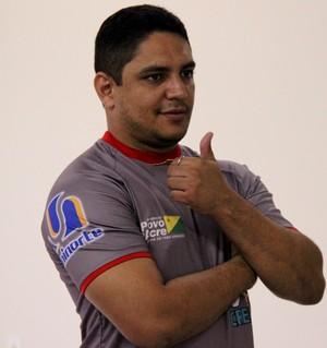Pablo Simões, técnico do Galvez (Foto: João Paulo Maia)