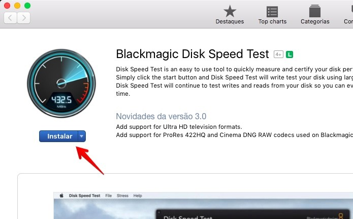 Como medir a velocidade do HD ou SSD no Mac | Dicas e