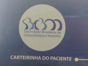Pacientes bariátricos devem apresentar carteira do paciente para fazer valer a lei (Foto: João Paulo Maia/GE)