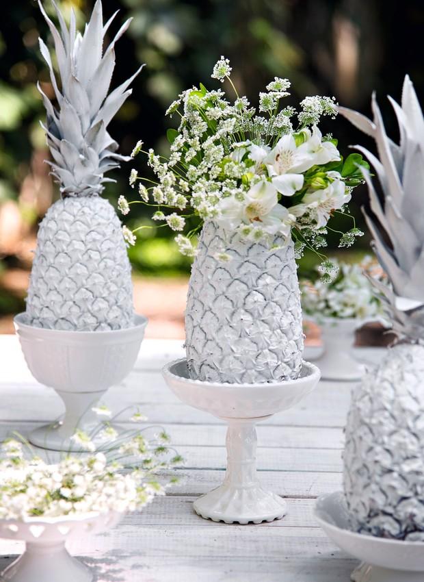 Mesa de réveillon Vá de branco! Casa e Jardim Decoraç u00e3o -> Decoração De Reveillon Na Fazenda
