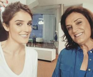 Rafa Brites e a mãe, Maria do Horto (Foto: Arquivo pessoal)