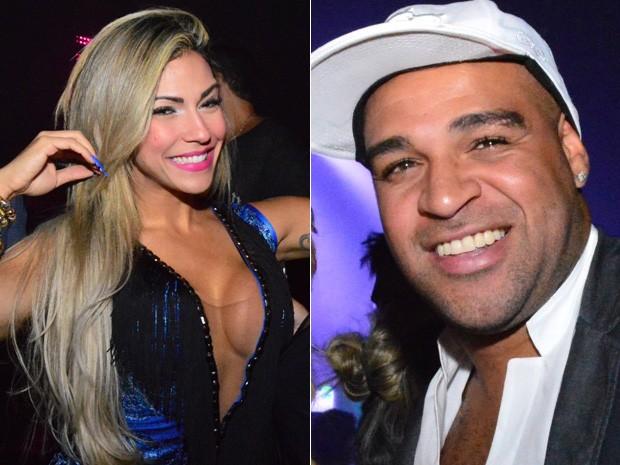 Verônica e Adriano  (Foto: Rodrigo Mesquita / Divulgação)