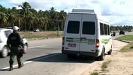 Fiscalizações contra os transportes clandestinos têm aumentado em Alagoas