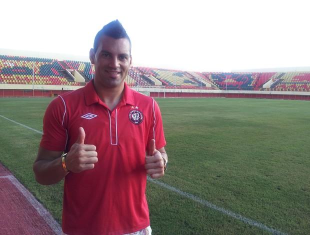 Weverton, goleiro do Atlético-PR (Foto: João Paulo Maia)